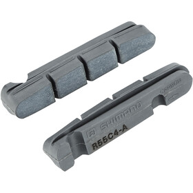 Shimano R55C4 Bremsbeläge für Cartridge Bremsschuh für Carbonfelge Belagmaterial 1 Paar